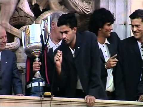 ''Today, tomorrow and always with Barça in my heart''. José Mourinho expresses his undying love for FC Barcelona after their 1997 Copa del Rey win.