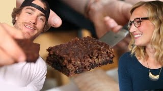 Almond Butter Zucchini Bar With Chocolate Chips Recipe