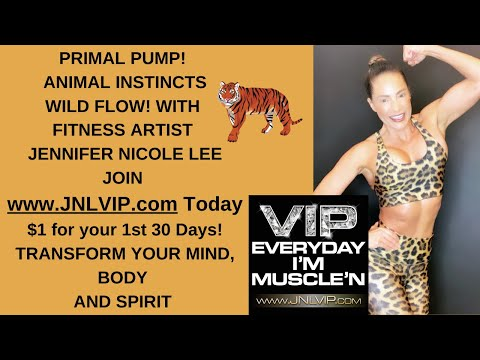 ANIMAL FLOW with fitness artist Jennifer Nicole Lee-The Unicorn