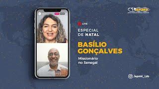 Conheça a história do Richard com Rev. Basílio Gonçalves | Live Especial de Natal