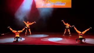 Free It Up Dance - Soca dance performance - Australia - Machel Montano - Alison HInds -Kerwin Dubois