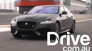 Jaguar XF Road and Track Tested | Drive.com.au