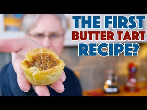 🇨🇦 1900 The Very First Butter Tart Recipe? || Glen & Friends Cooking