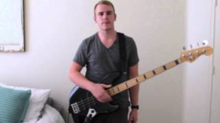 "Hillsong Young and Free ""Alive"" Bass lesson, Tips, Tone, Tutorial & Play-through"