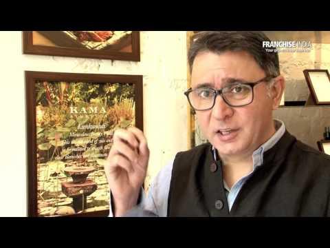 Interview with Kama Ayurveda's Founder & CEO, Mr. Vivek Sahni.