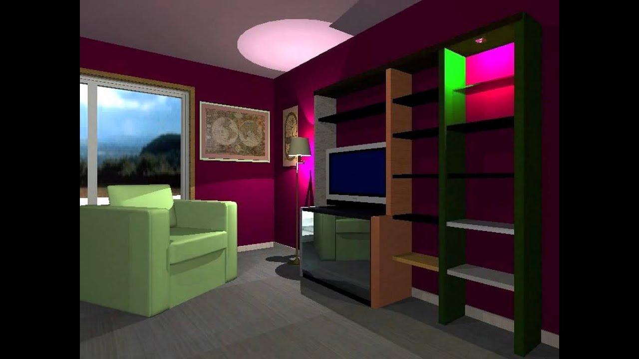Contrastes de color youtube for Colores d pintura para interiores