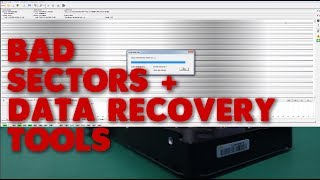data recovery tool I use for imaging | hard drive with bad sectors