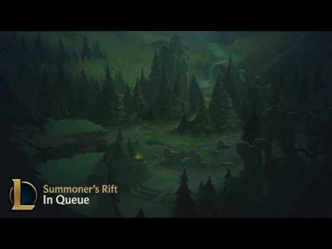 League Client: Summoner's Rift - In Queue