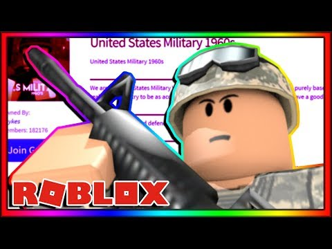 i joined a roblox military group...