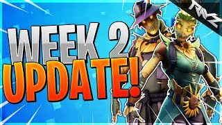 EVERY SECRET Change In Fortnite UPDATE v6.01! New Trap, Scarecrow Skins, Modes & More! (Fortnite BR)
