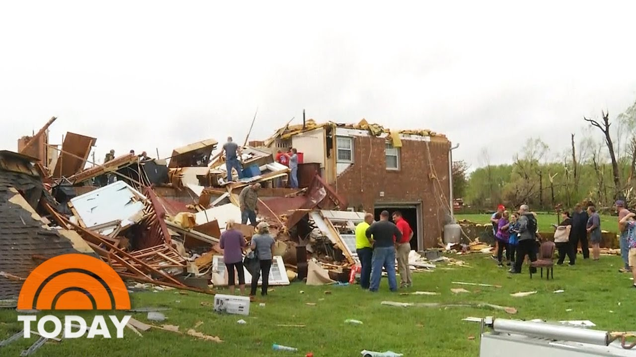Deadly severe weather outbreak strikes South on Easter with ...