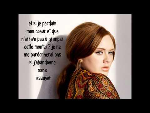 Adele He won't go (traduction FR)