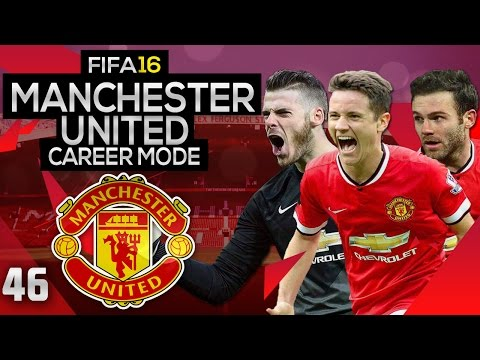 FIFA 16 Career Mode: Manchester United #46 - PSG Champions League 1st Leg (FIFA 16 Gameplay)