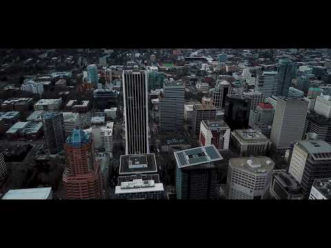 Portland Oregon Time lapse and Drone shots in 4K