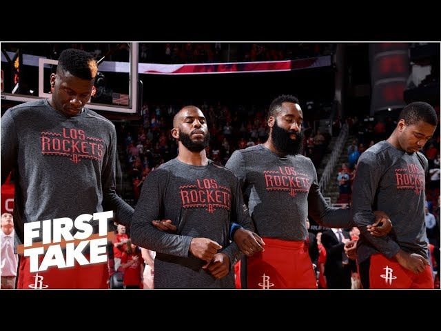 The Rockets want to avoid the Warriors until the Western Conference finals - Stephen A. | First Take