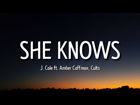 """j. cole – she knows (lyrics) """"i am so much happier now that I'm dead"""" [tiktok song]"""
