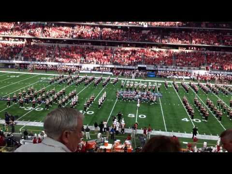 Alabama - Wisconsin college game - Dallas Cowboys stadium 9.6.2015 -Wisconsin Band