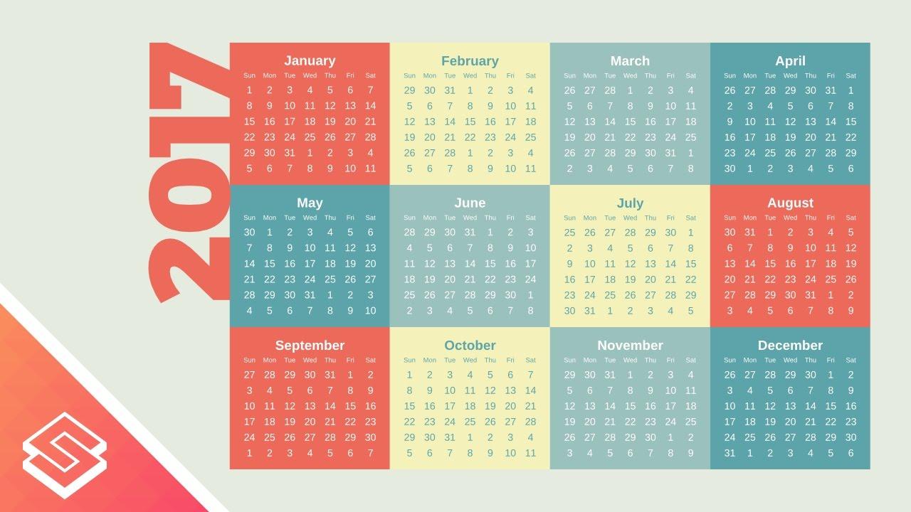Calendar Design Tutorial : Inkscape tutorial simple vector calendar design youtube