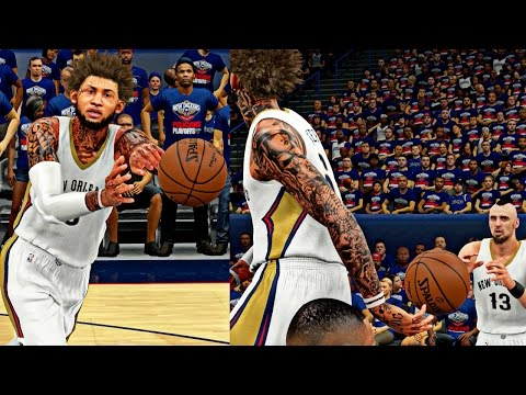 BREAKING THE PLAYOFFS ASSIST RECORD! | BEST POINT FORWARD OF ALL TIME! - NBA 2K16 MyCAREER S3 R2G1