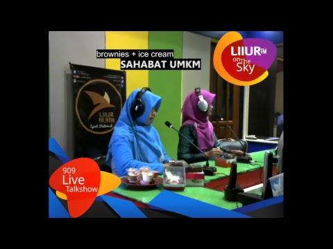 #Viral ICe Cream Lezzato dan Bunda Brownies // Program Radio Liiur Fm Tulungagung (030218)