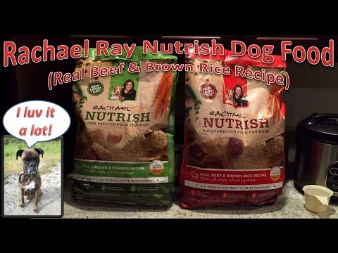 Rachael Ray Beef And Brownrice Dog Food Review