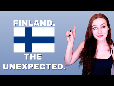 What surprised a Russian girl in Finland