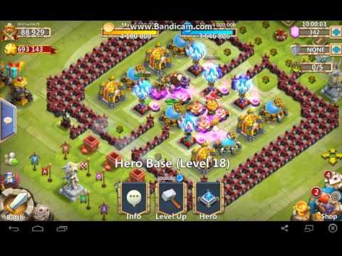 Castle Clash:Account For Sale
