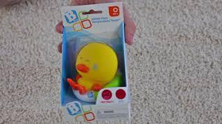 B kids - игрушка для купания уточка с индикатором температуры воды Диди