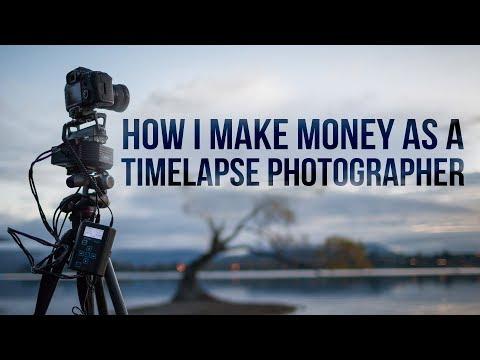 How I make money as a timelapse photographer