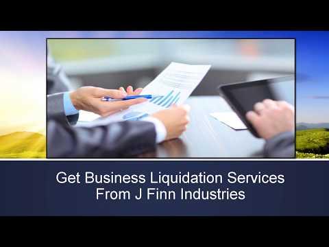 Get Business Liquidation Services From J Finn Industries