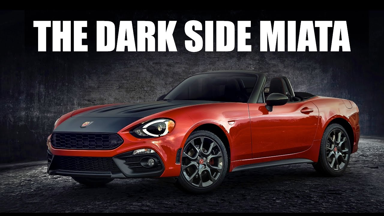 2017 fiat 124 spider abarth review the turbo miata youtube. Black Bedroom Furniture Sets. Home Design Ideas