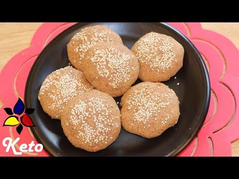 keto-hamburger-buns- -keto-recipes- -keto-bread