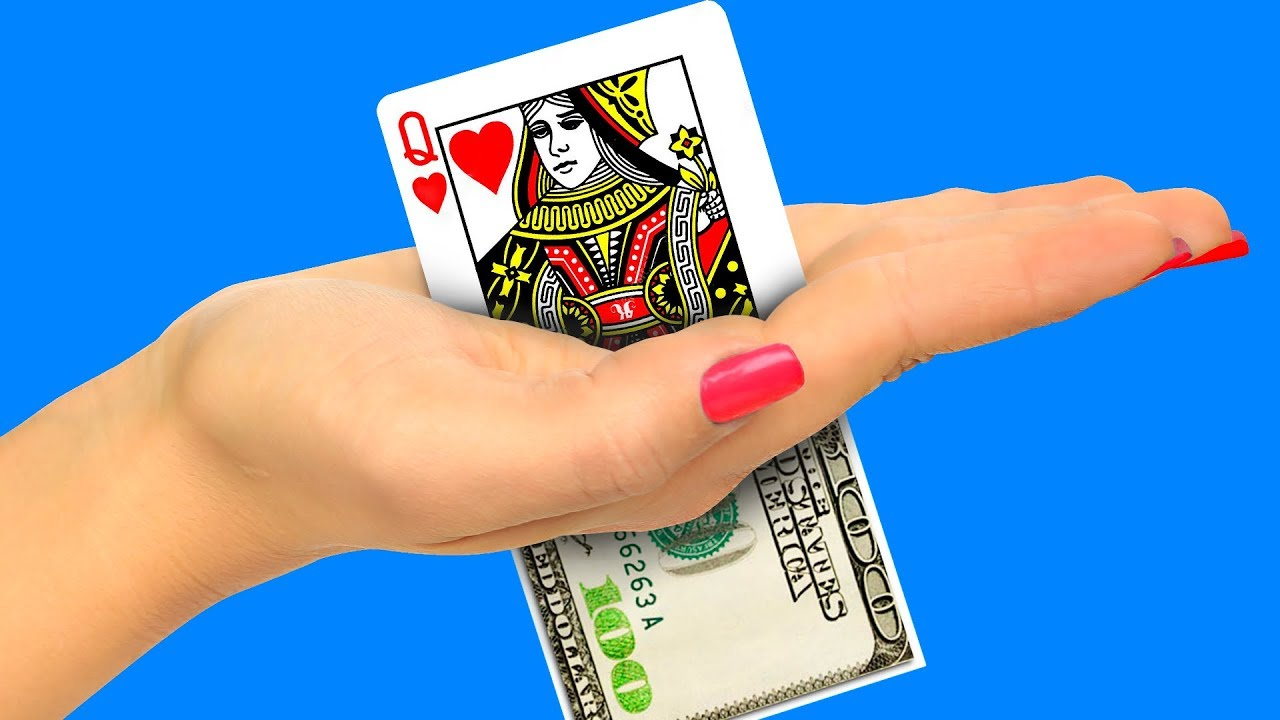 15 Tricks With Playing Cards / Magic Tricks Revealed - YouTube
