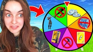 Fortnite WHEEL of CHALLENGES