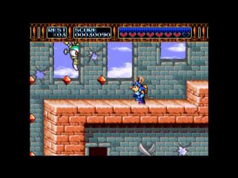 Let's Play Rocket Knight Adventures Part 1: An Opossum's Journey Begins