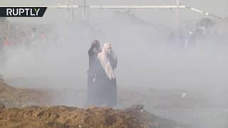 Dozens of Palestinians wounded by Israeli gunfire at Gaza border