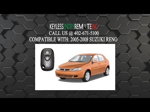 How To Replace Suzuki Key Fob Battery Part # D01SB FCC ID MOZD01TB