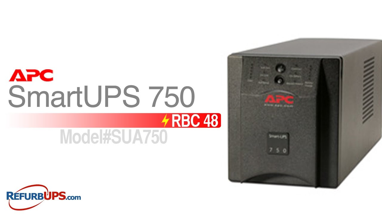 RBC48 Battery Replacement for APC SmartUPS 750