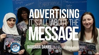 in advertising it s all about the message   barbara daniel   gyb cle