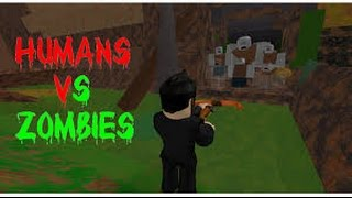 Winning a game in Roblox Humans vs Zombies part 5