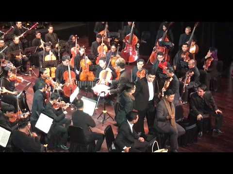 Jakarta City Philharmonic. Puccini, La Boheme Act I