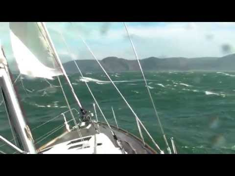 Oceanis 45 Conwy to Liverpool and back with a very windy end