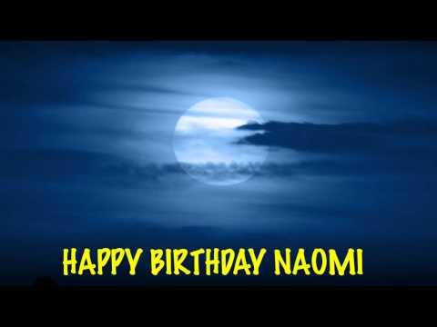 Naomi - Moons - Happy Birthday