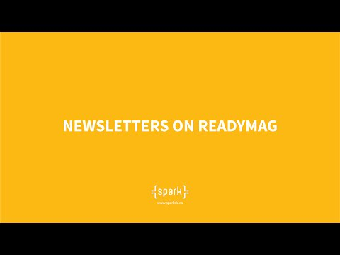 Publishing Newsletters using ReadyMag