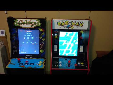 Arcade1up  pac-man arcade cabinet with 6 other games from Games, Clocks, & Electronics (GCE)