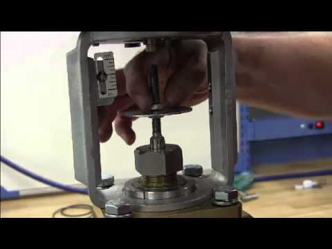 How To Repair A Globe Style Control Valve - Jordan Valve Mark 78 Series