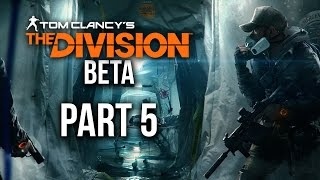The Division Beta Gameplay Walkthrough Part 5 - LEVELING UP