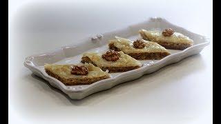 пахлава с грецкими орехами и медом рецепт от Валентины