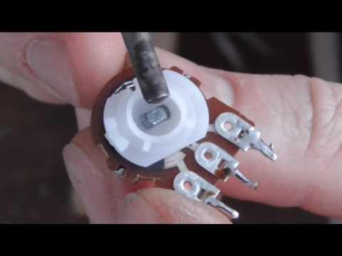 Изготовление многооборотного резистора