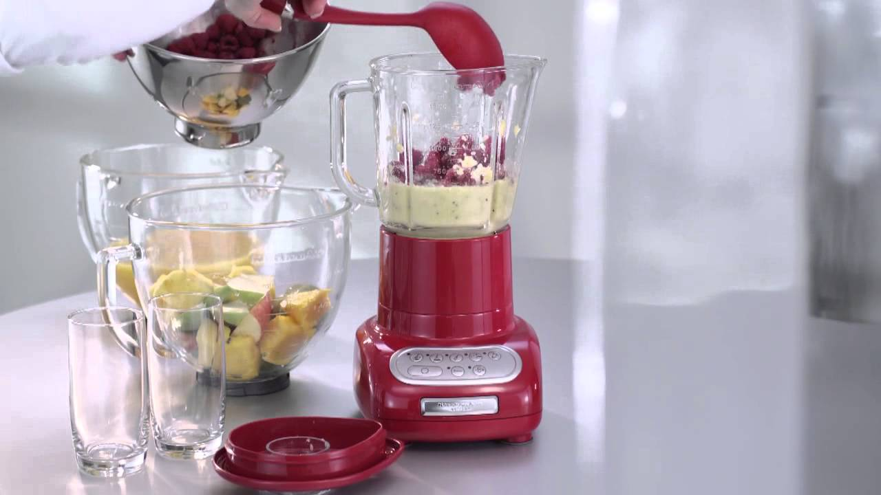 KITCHEN AID 5 KSB 555 Blender / Blender   Product Video Vandenborre.be